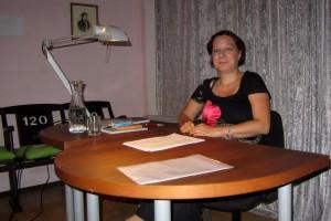 Silvia Waltl las am 31. Juli im read!!ing room