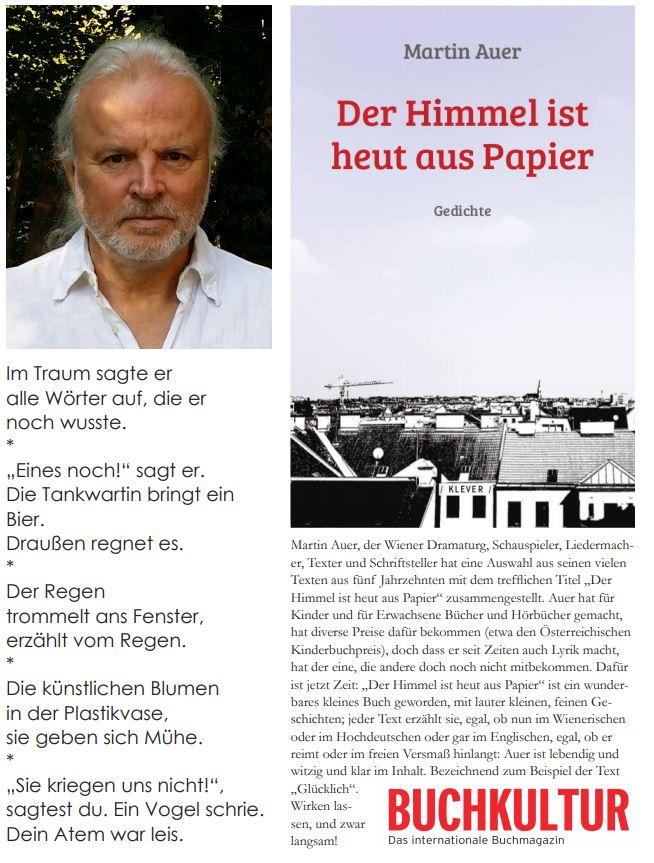 Martin Auer liest im read!!ing room am 07. Dezember 2018
