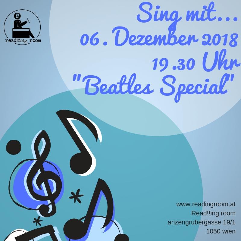 Sing mit im read!!ing room