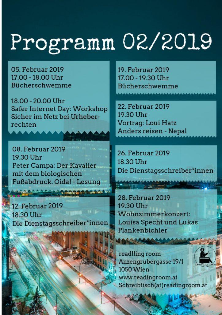 Programm read!!ing room