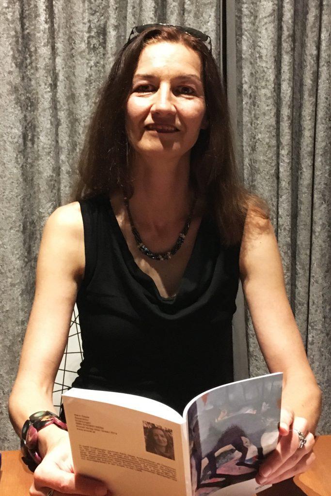 Karin Gayer im read!!ing room
