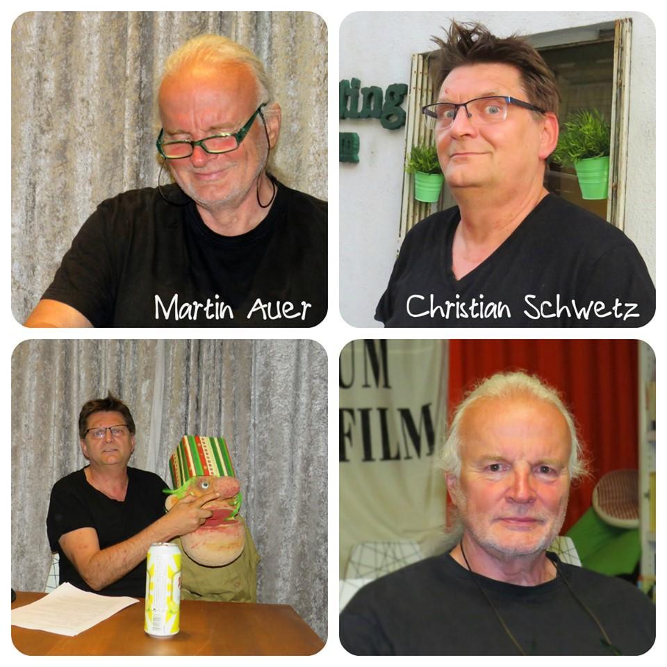 Martin Auer, Christian Schwetz, Puppe von Sven Stäcker, Mikrokosmos 1, read!!ing room