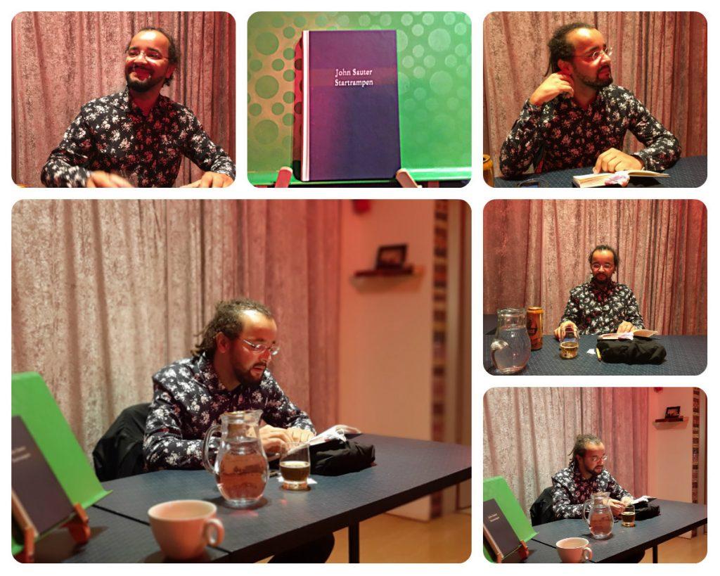 Buchpräsentation John Sauter read!!ing room