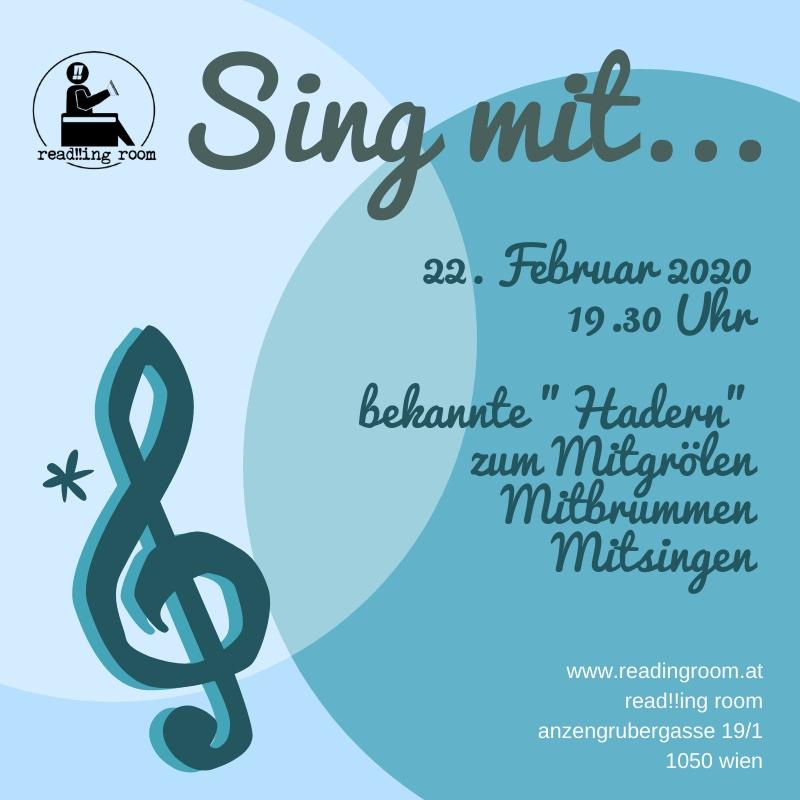 sing mit 4 read!!ing room