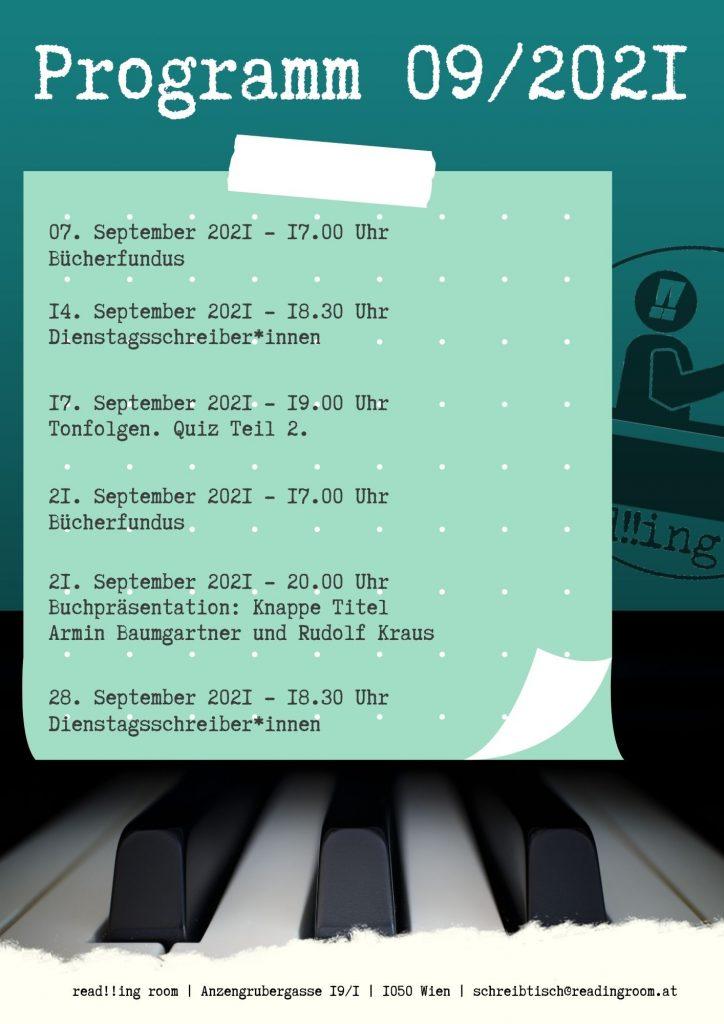 Programm September 2021