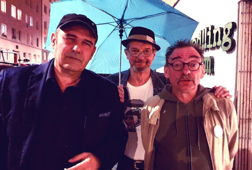 Rudolf Kraus, Hans Dickinger, Armin Baumgartner (Foto Hans Dickinger)